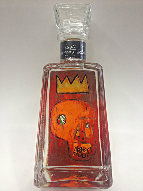 1800 Tequila Blanco Essential Red Kings by Jean-Michel Basquait in 1981