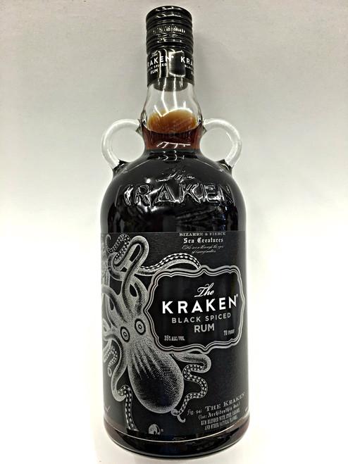 The Kraken Black Spiced 70 Proof Rum