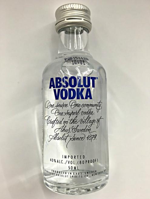 Absolut  Vodka Mini 50ml