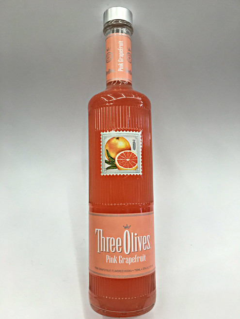 Three Olives Pink Grapefruit Vodka