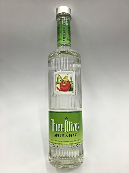 Three Olives Apples & Pears Vodka