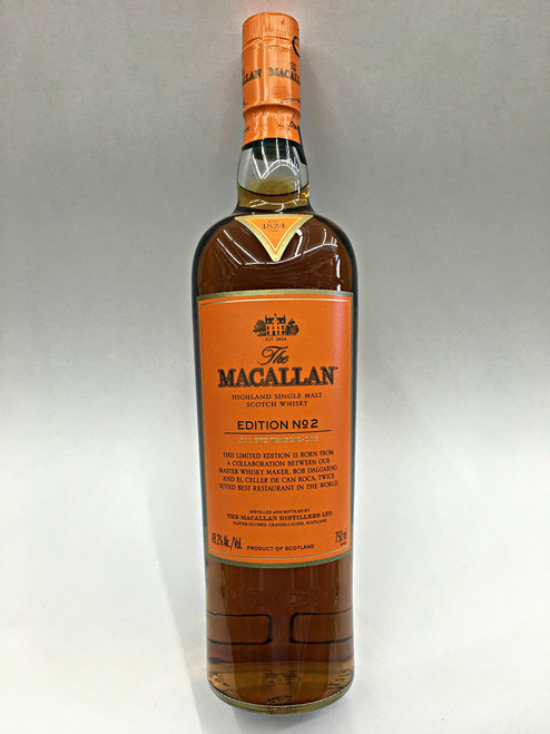 The Macallan Edition No.2 Highland Single Malt Whisky