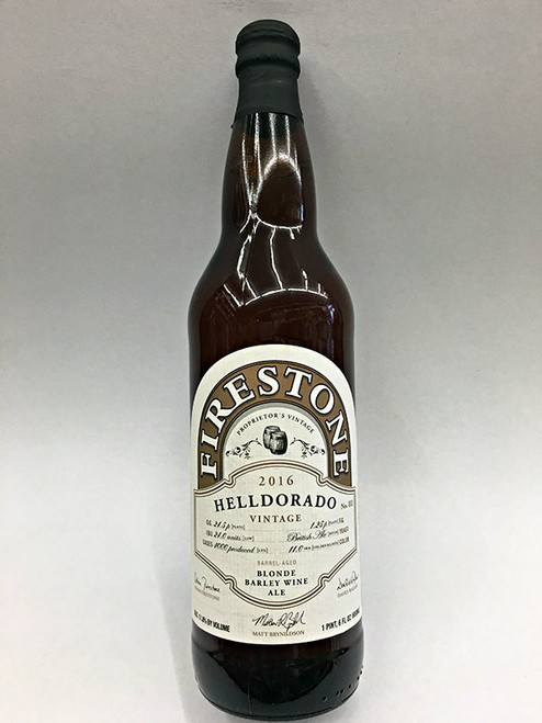 Firestone Walker Helldorado Blonde Barley Wine Ale 2016