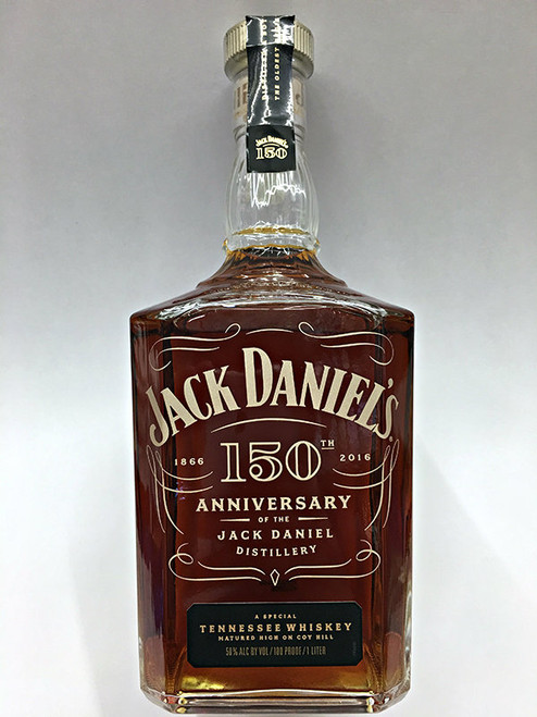 Jack Daniels 150th Anniversary Tennesee Whiskey 1 Liter