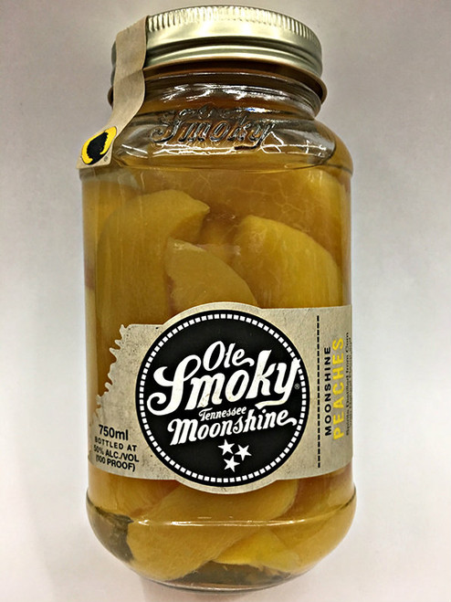 Ole Smoky Peach Slices Moonshine