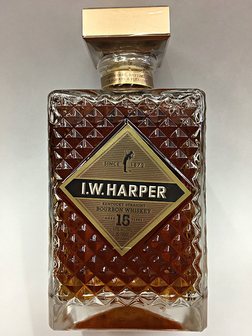 I.W. Harper 15 Year Old Straight Bourbon Whiskey