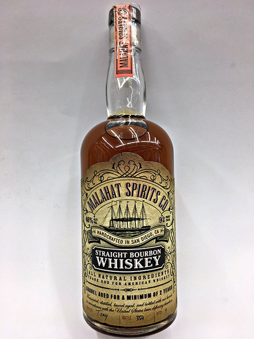 Malahat Spirits Straight Bourbon Whiskey