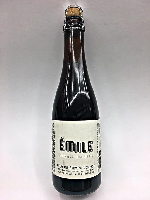 Allagash Emile Ale Aged In Wine Barrels