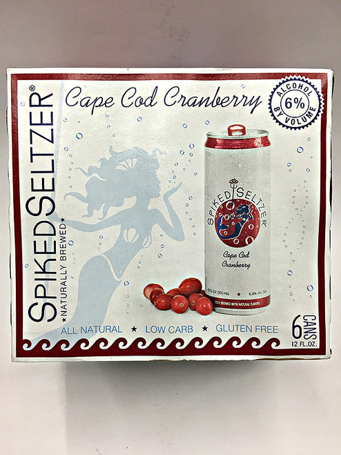 Spiked Seltzer Cape Cod Cranberry