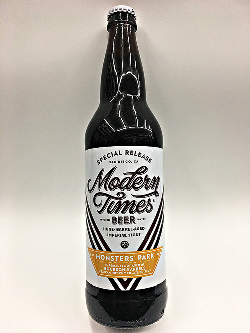 Modern Times Monsters' Park Bourbon Barrels Mexican Hot Chocolate Edition
