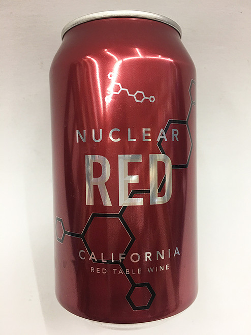 Nuclear Red Wine Can