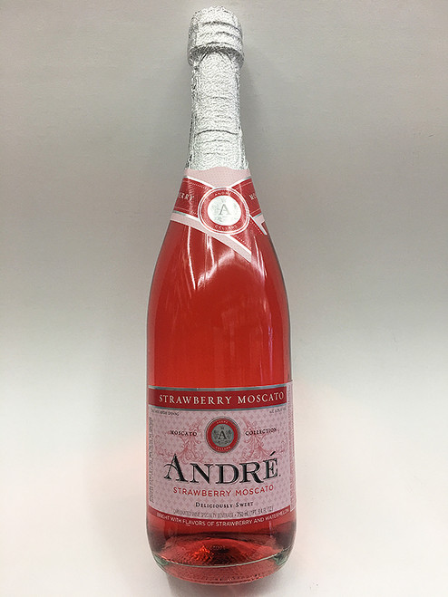 Andre Strawberry Moscato Champagne