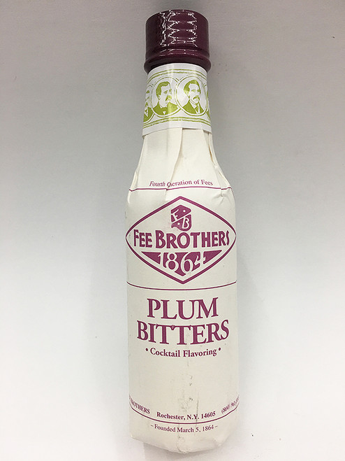Fee Brothers Plum Bitters Cocktail Flavoring