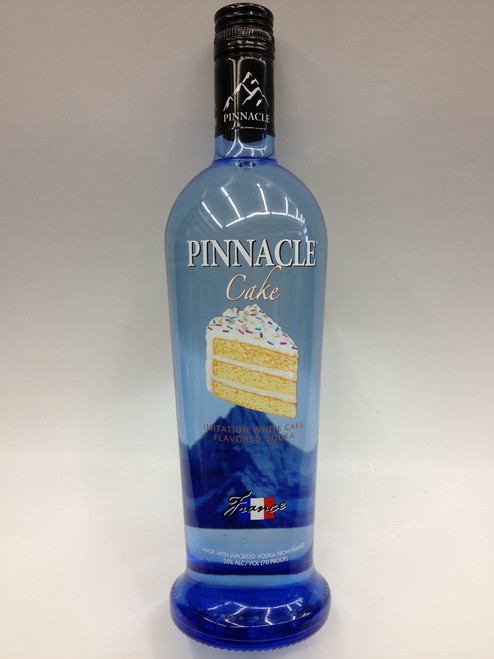 Groovy Pinnacle Cake Flavor Vodka Quality Liquor Store Funny Birthday Cards Online Alyptdamsfinfo