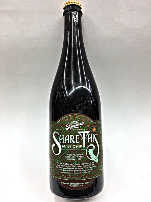 The Bruery Mint Chip Imperial Stout