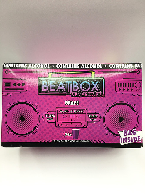 BeatBox Beverages Grape 5 Liter