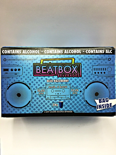 BeatBox Beverages Blue Razzberry Lemonade 5 Liter