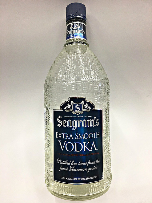 Seagrams Extra Smooth Vodka 1.75L