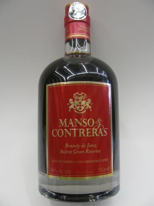 Manso & Contreras Brandy 750ml