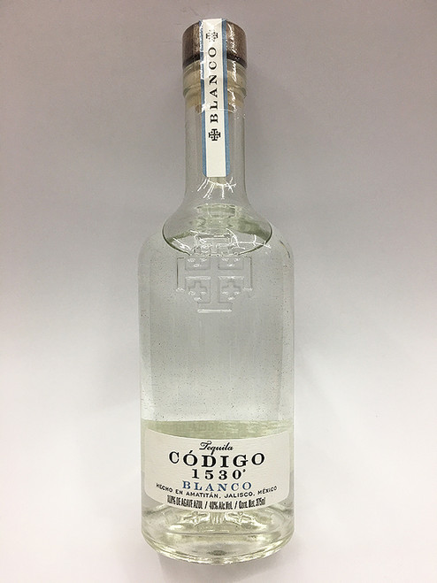 Código 1530 Blanco Tequila 375ml