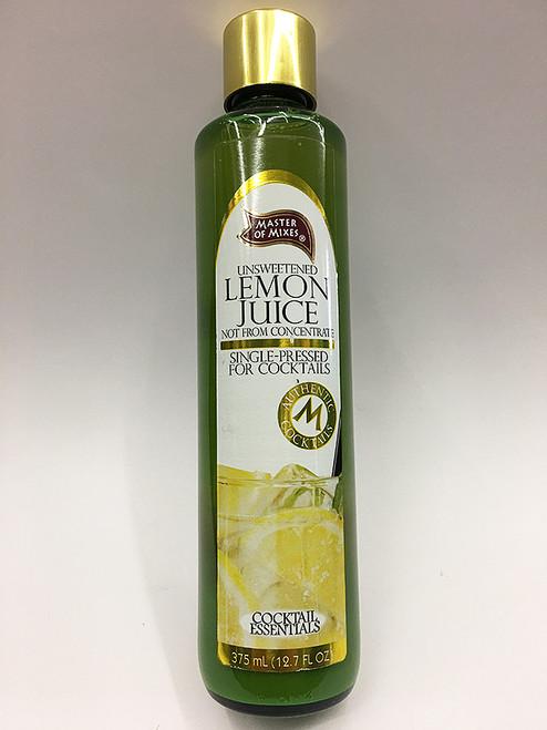 Cocktail Essentials Unsweetened Lemon Juice
