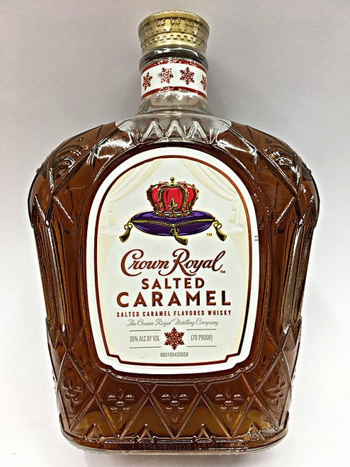 Crown Royal Salted Caramel Canadian Whisky 082000783978