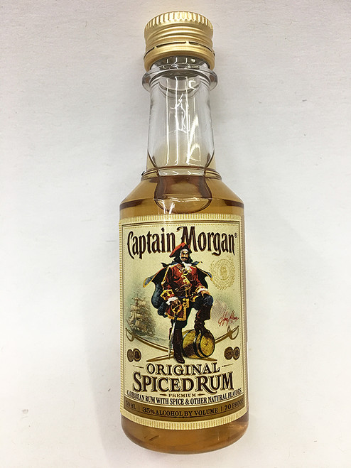 Captain Morgan Original Spiced Rum Mini 50ml