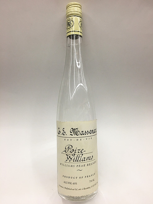 G.E. Massenez Poire Williams Pear Brandy