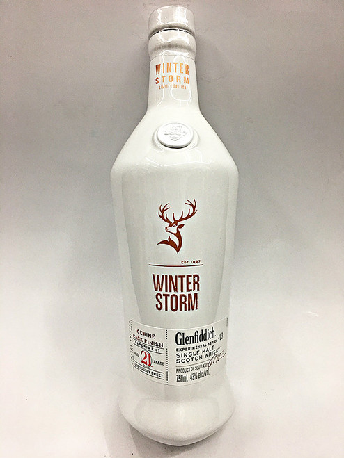 Glenfiddich Winter Storm 21 Year Old Ice Wine Cask Single Malt
