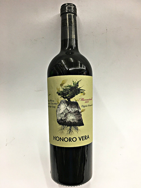 Honoro Vera Organic Monastrell Red Wine