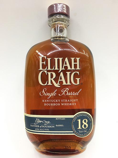 Elijah Craig Bourbon 18 Year Rare