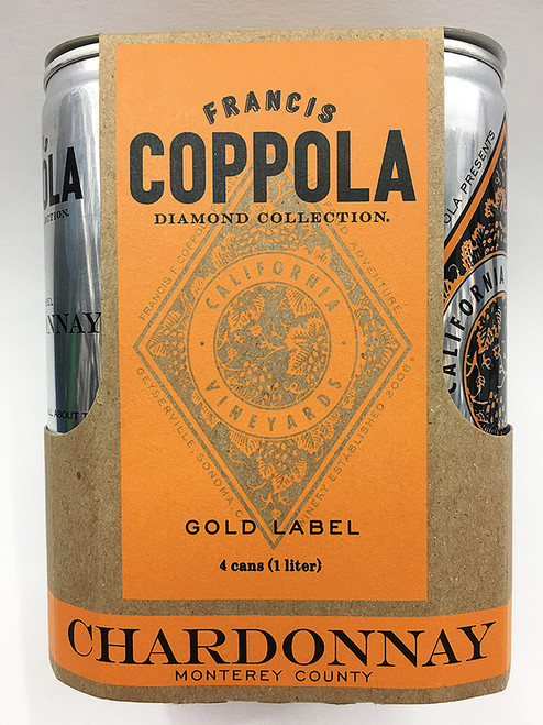 Francis Ford Coppola Chardonnay Can 4 Pack