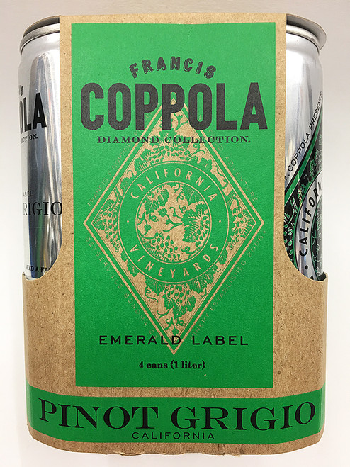 Francis Ford Coppola Pinot Grigio Can 4 Pack