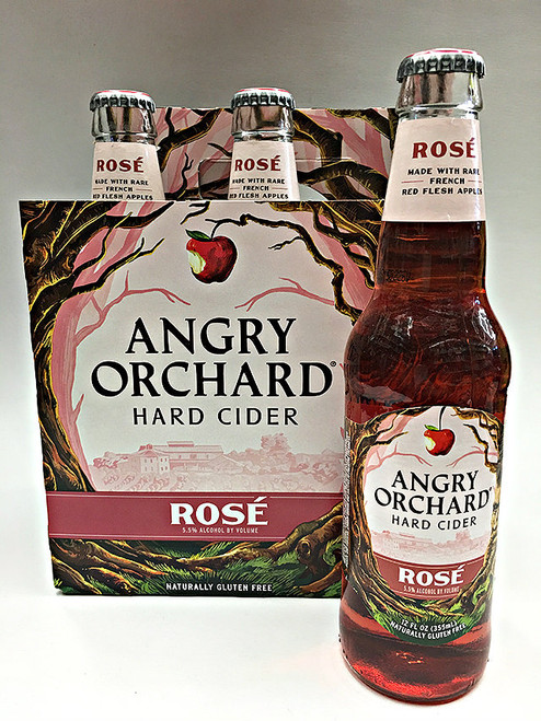 Angry Orchard Rose Hard Cider 6 Pack