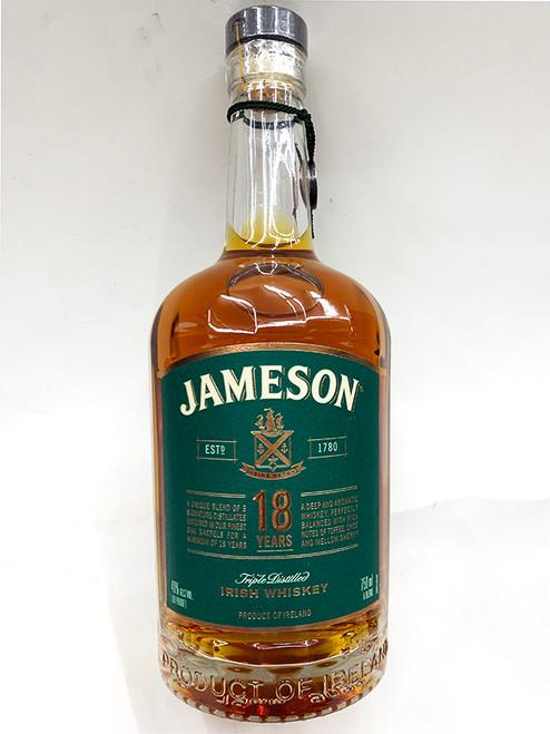 Jameson 18 Years Old Triple Distilled Irish Whiskey