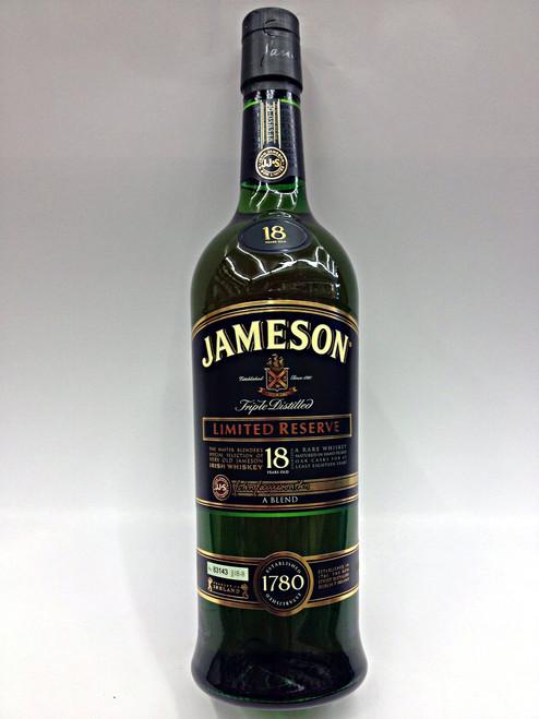 Jameson 18 years old Irish Whiskey