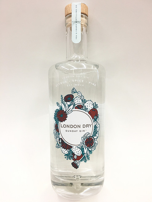 You & Yours Sunday Gin London Dry