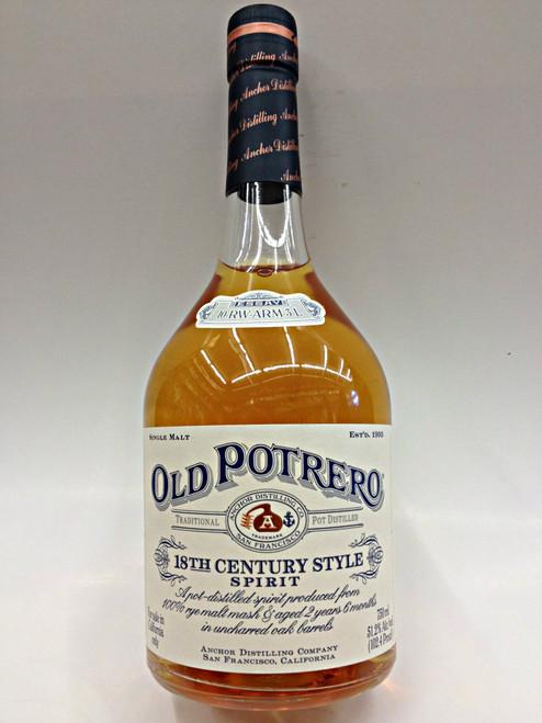 Old Potrero Rye Whiskey