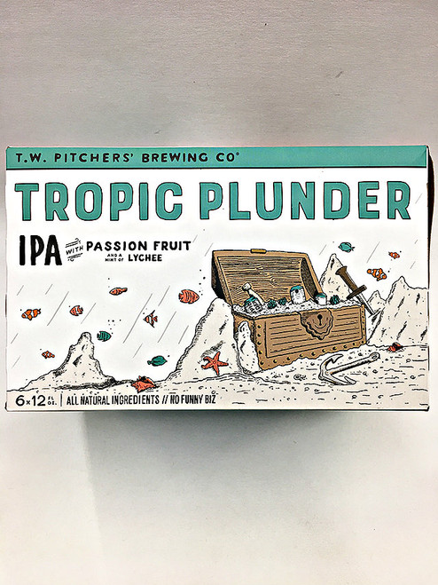 TW Pitchers' Tropic Plunder IPA Passion Fruit