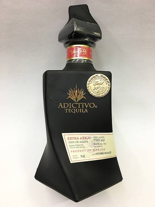 Adictivo Extra Anejo Black Limited Edition Tequila
