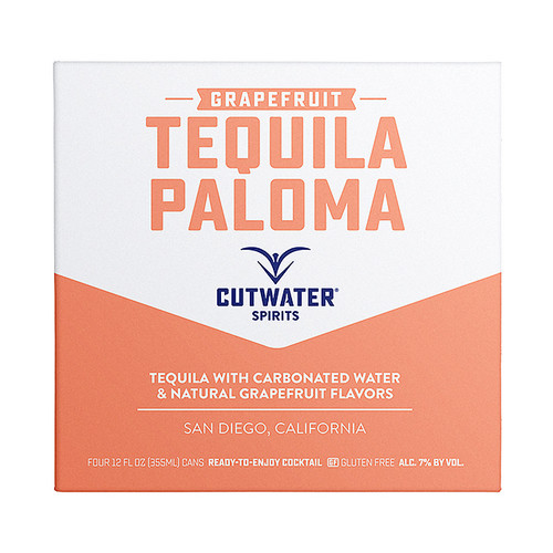 CutWater Tequila Paloma Grapefruit 4 Pack