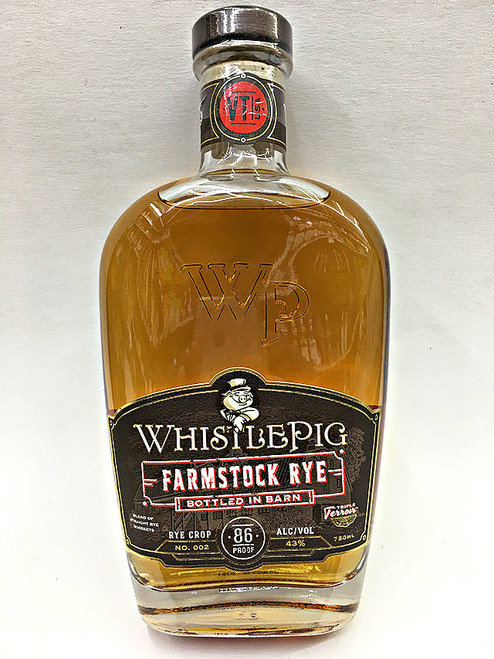 WhistlePig Farmstock Rye Crop 2 Whiskey