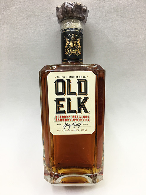 Old Elk Blended Straight Bourbon Whiskey