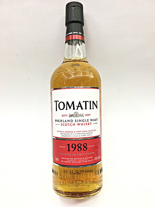 Tomatin 1988 - 25 Year Old Scotch Whisky