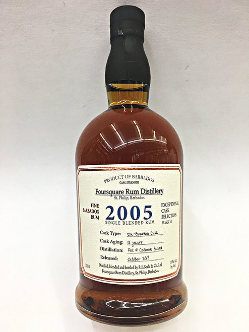 Foursquare 2005 Fine Barbados Single Blended Rum