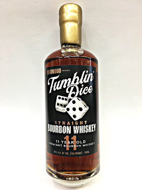 Deadwood Tumblin Dice Straight Bourbon Whiskey 11 Year