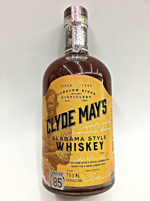 Clyde May's Alabama Whiskey