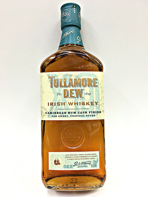 Tullamore Dew XO Carribean Rum Cask Finish Irish Whiskey