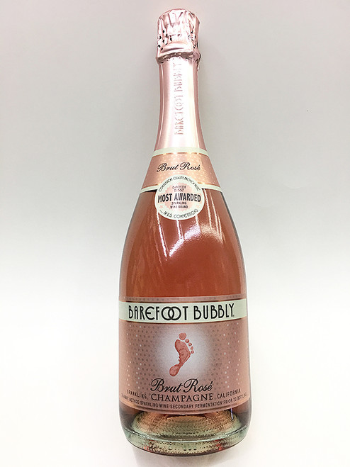 Barefoot Bubbly Brut Rose Champagne