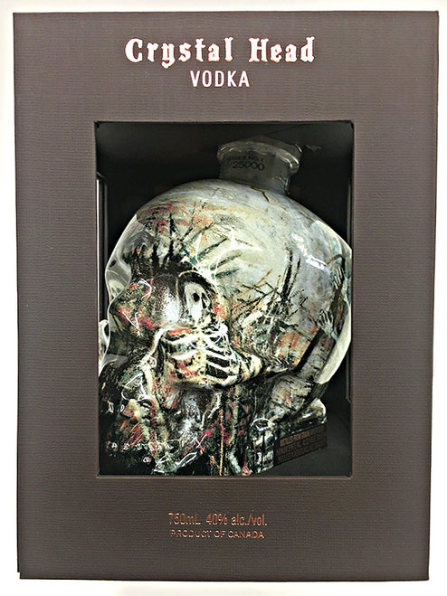 Crystal Head Vodka – John Alexander Artist Series Bottle BOX